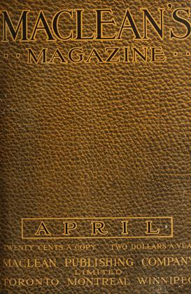 Cover for the April 1 1912 issue