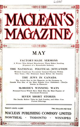 Cover for the May 1 1912 issue