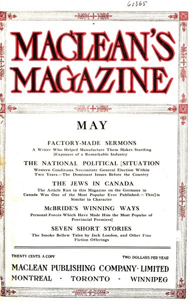 Issue: - May 1912 | Maclean's