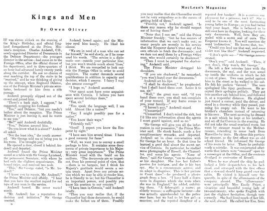 Kings and Men