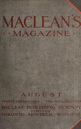 August, 1912 | Maclean's