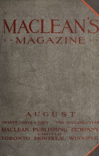 Issue: - August 1912 | Maclean's