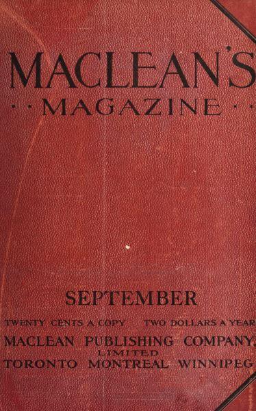 Issue: - September 1912 | Maclean's