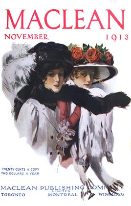 Cover for the November 1 1913 issue