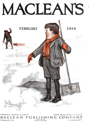 Cover for the February 1 1914 issue