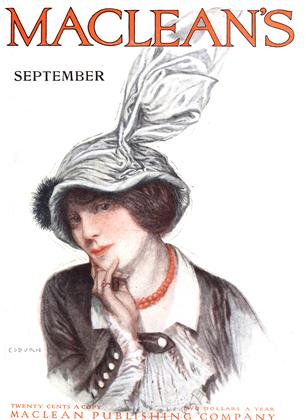 Cover for the September 1 1914 issue