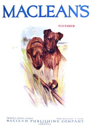 Cover for the November 1 1914 issue