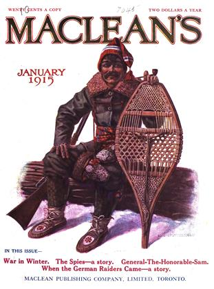 Cover for the January 1 1915 issue