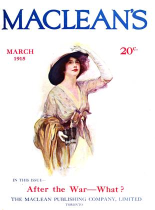Cover for the March 1 1915 issue