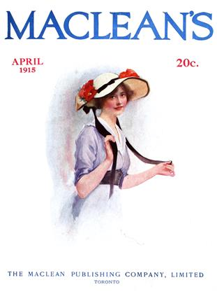 Cover for the April 1 1915 issue