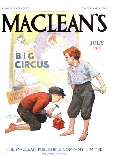 Issue: - July 1915 | Maclean's
