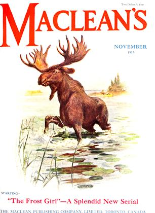 Cover for the November 1 1915 issue