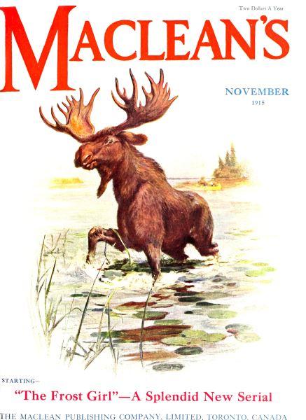 Issue: - November 1915 | Maclean's