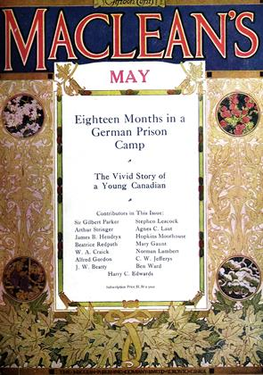 Cover for the May 1 1916 issue