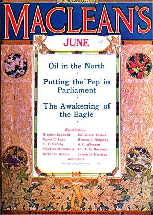 Cover for the June 1 1916 issue