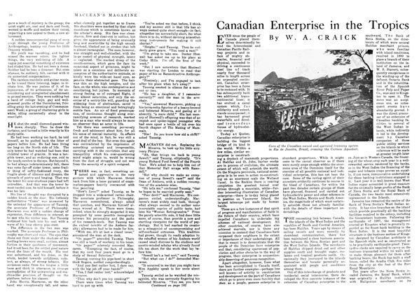 Canadian Enterprise in the Tropics