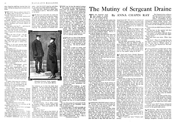 The Mutiny of Sergeant Draine