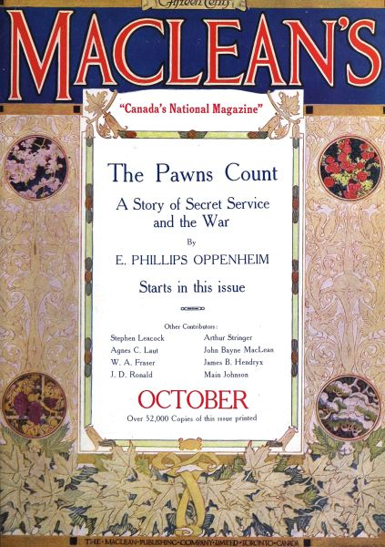 Issue: - October 1916 | Maclean's