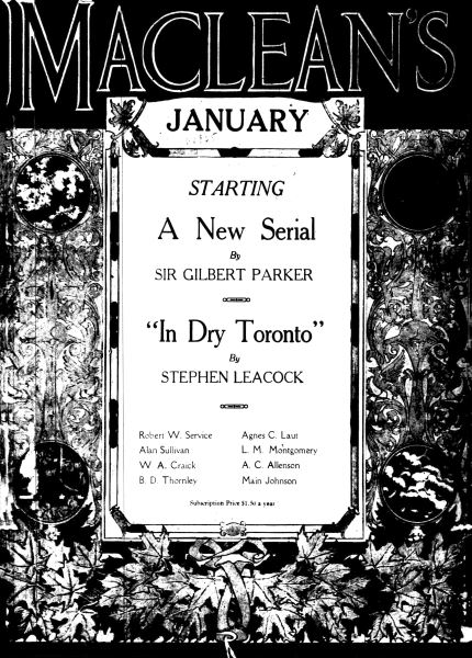 Issue: - January 1917 | Maclean's