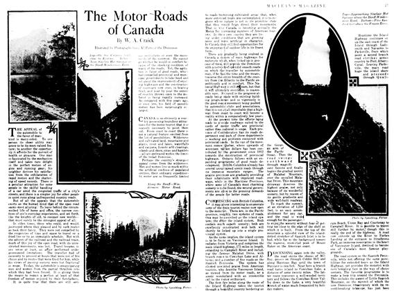 The Motor Roads of Canada