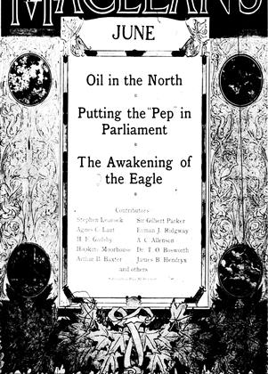 Cover for the June 1 1917 issue