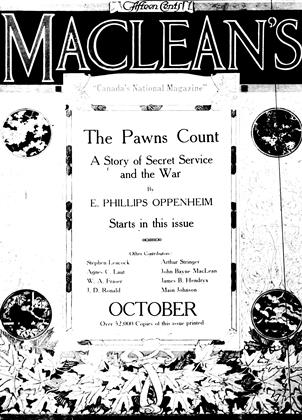 Cover for the October 1 1917 issue