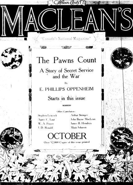 Issue: - October 1917 | Maclean's