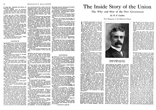 Ribbing Up The Liberal Party   Maclean's   OCTOBER, 1916