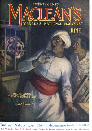 Cover for the June 1 1918 issue