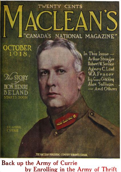 Issue: - October 1918 | Maclean's