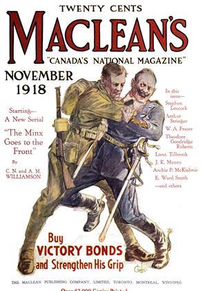 NOVEMBER 1918 | Maclean's