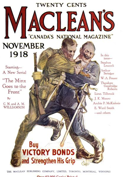 Issue: - November 1918 | Maclean's