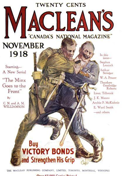 Issue: - November 1918 | Maclean's
