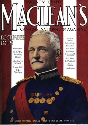 Cover for the December 1 1918 issue