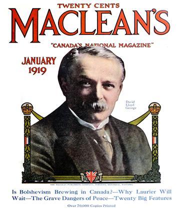 JANUARY, 1919 | Maclean's