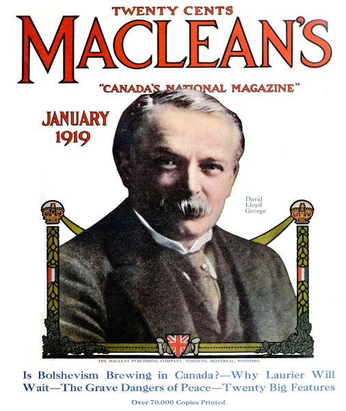 Issue: - January 1919 | Maclean's