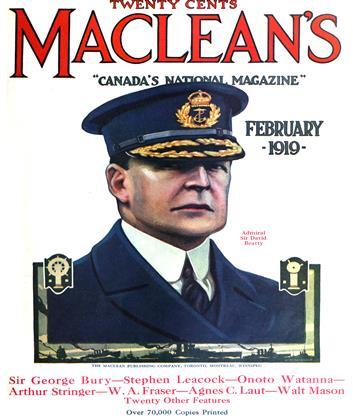 FEBRUARY 1919 | Maclean's