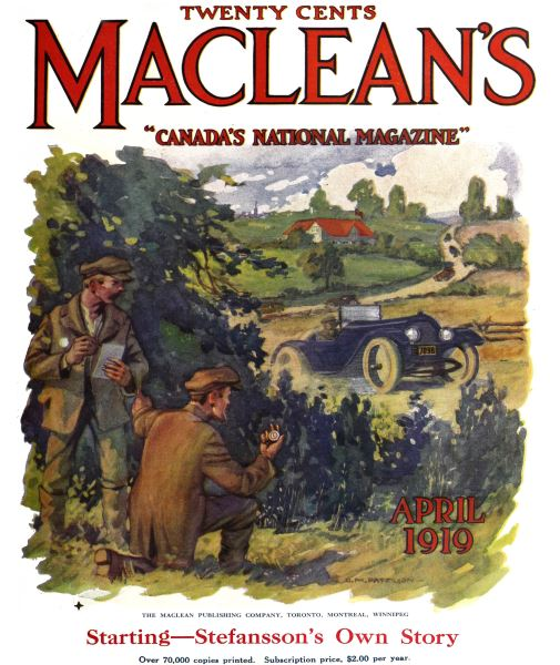 Issue: - April 1919 | Maclean's