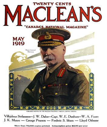 Cover for the May 1 1919 issue