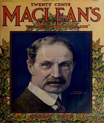 July,1919 | Maclean's