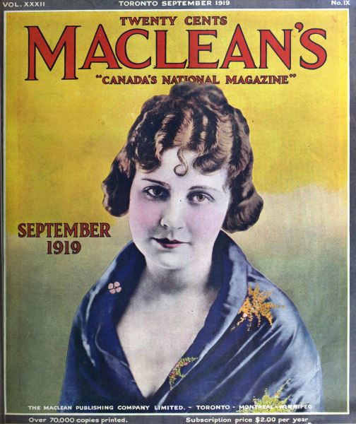 Issue: - September 1919 | Maclean's
