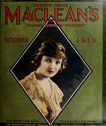 OCTOBER 1919 | Maclean's