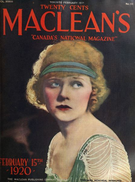 Issue: - FEBRUARY 15TH 1920 | Maclean's
