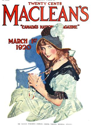 MARCH 1ST 1920 | Maclean's