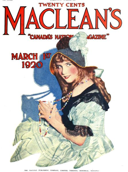 Issue: - MARCH 1ST 1920 | Maclean's