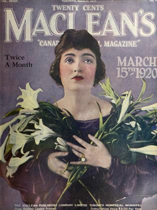 MARCH 15, 1920 | Maclean's