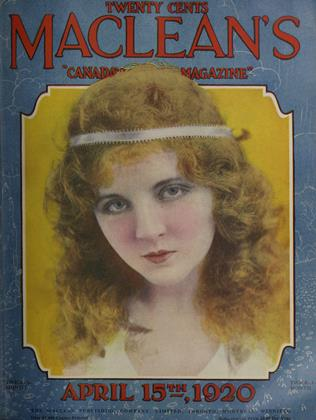 APRIL 15, 1920 | Maclean's