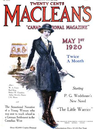 MAY 1ST 1920 | Maclean's