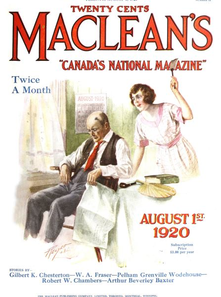 Issue: - August 1920 | Maclean's