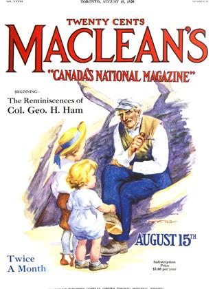 Cover for the August 15 1920 issue